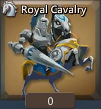 royal cavalry